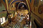 Innenraum der St.-Nikolaus-Kirche, Chalki (Halki), Dodekanes, griechische Inseln, Griechenland, Europa