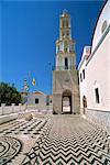 St.-Nikolaus-Kirche, Chalki (Halki), Dodekanes, griechische Inseln, Griechenland, Europa