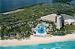 Hotel area, Cancun, Yucatan, Mexico, North America
