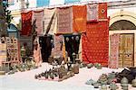Souvenirs for sale, Essaouira, Morocco, North Africa, Africa