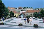 Istvan Dobo Ter Square, Eger, Hungary, Europe