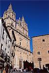 Gothic style Christian Convento de las Ursulas, fondées en 1512, Salamanque, Castille-Leon (Castille), Espagne, Europe