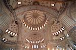 Interior of the Blue Mosque (Sultan Ahmet mosque), Istanbul, Turkey, Europe