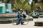 Plaza centrale, Liberia, Costa Rica, l'Amérique centrale