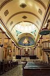Inside the Metropolitana Cathedral, San Jose, Costa Rica, Central America