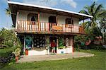 Ville de Tortuguero, Costa Rica, l'Amérique centrale