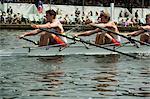 Rudern auf der Henley Royal Regatta, Henley on Thames, England, Vereinigtes Königreich, Europa