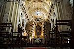 Église de St. Anne s, une de Pologne baroque plus belles églises, vieille ville (Stare Miasto), Krakow (Cracovie), patrimoine mondial de l'UNESCO, Pologne, Europe