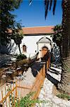 Église de Anogi vieux de 900 ans avec fresques âgés de 500 ans, Anogi, Ithaque, îles Ioniennes, Grèce, Europe
