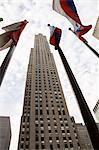 Rockefeller Center, Mid town Manhattan, New York City, New York, United States of America, North America