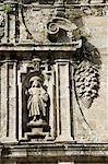 Puerta Santa doorway, Santiago Cathedral, Santiago de Compostela, Galicia, Spain, Europe