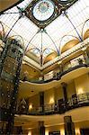 Tiffany ceiling in Gran Hotel, Zocalo, Mexico City, Mexico, North America