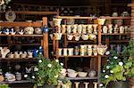 Pottery for sale, Oaxaca, Mexico, North America