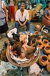Chickens for sale in the market, Zaachila, Oaxaca, Mexico, North America