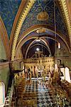 Kirche innen, Chalki, Dodekanes, griechische Inseln, Griechenland, Europa