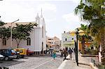 Church, Mindelo, Sao Vicente, Cape Verde Islands, Africa