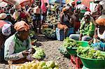 Municipal Market at Assomada, Santiago, Cape Verde Islands, Africa