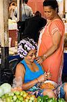 In the market, Sao Filipe, Fogo (Fire), Cape Verde Islands, Africa