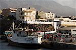 Le Port de Porto Novo, îles de Santo Antao, Cap-vert, Atlantique, Afrique