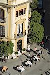 Le célèbre restaurant El Giraldillo, Plaza Virgen de los Reyes, Santa Cruz district, Séville, Andalousie, Espagne, Europe