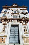 L'église Baroque de l'Hospital de la Caridad, Daïra dEl Arenal, Séville, Andalousie, Espagne, Europe