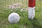 Fußball Ball von Net, Skagen, Skagen, Nordjylland, Jütland, Dänemark