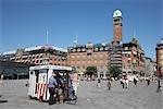 Place de la mairie, Copenhague, North Sealand, Danemark