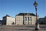 Amalienborg Palace, Copenhagen, North Sealand, Denmark