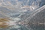 Berg und See, Tombstone Territorial Park, Yukon, Kanada
