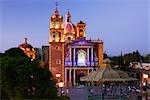 Santa Maria de la Asuncion, Plaza Miguel Hidalgo, Tequisquiapan, Queretaro, Mexico