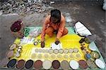 Mann verkauft waren, Kolkata, Westbengalen