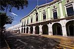 Government Building Near Town Centre, Merida, Yucatan, Mexico