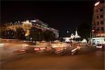Centre ville, hôtel de ville d'Ho Chi Minh et le Rex Hotel, Ho Chi Minh, Vietnam