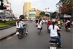 Motocyclistes, Ho Chi Minh ville, Vietnam