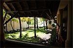 Courtyard at Resort, Mauritius