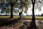 Cyclisme à travers Londres