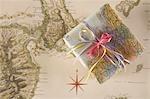 Cadeau pour la fête « bon voyage »