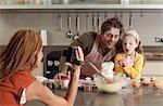 photo prise de mère de famille de cuisine