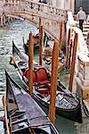 Gondeln auf dem Canal, Venedig, Italien