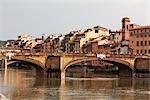 Ponte Santa Trinita, Florence, Tuscany, Italy