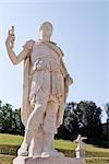 Bildhauerei an Boboli-Gärten, Palazzo Pitti, Florenz, Toskana, Italien