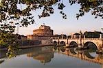 Castel Sant ' Angelo, du Tibre, Rome, Italie