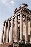 Ruines de Rome, Lazio, Italie
