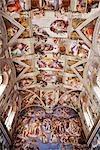 Sixtinische Kapelle, Vatikan Museum, Vatikan, Rom, Italien