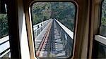 France, Corsica, train line Corte-Ajaccio.