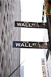 Wall Street, Manhattan, New York City, New York, États-Unis