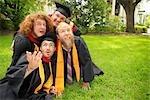 Graduates on Ground
