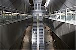 Rolltreppe in u-Bahnstation