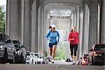 Women Running, Seattle, Washington, USA