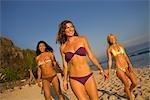 Women on Beach, Punta del Burro, Nayarit, Mexico